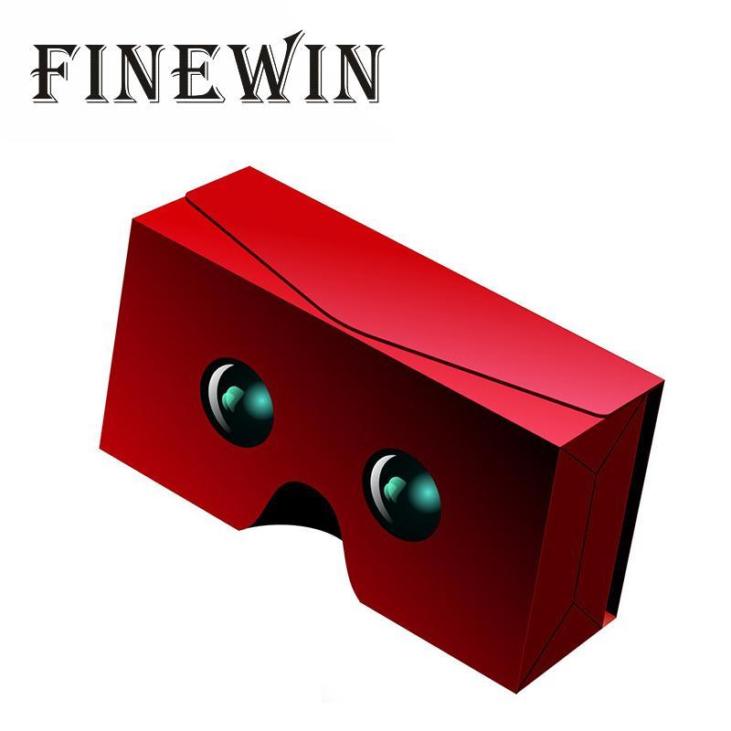 VR SKY FOLD 3D GLASSES Google PET Plastic Cardboard  3D Glasses Virtual Reality For 4-6inch Smart Mobile Phone Virtual Reality