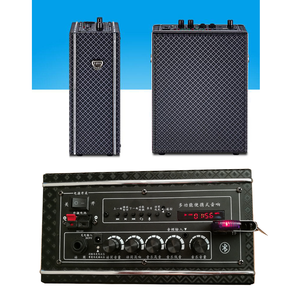 Chimole Outdoor Bluetooth kõlarid Kõrge kvaliteediga 100 W suure - Kaasaskantav audio ja video - Foto 2