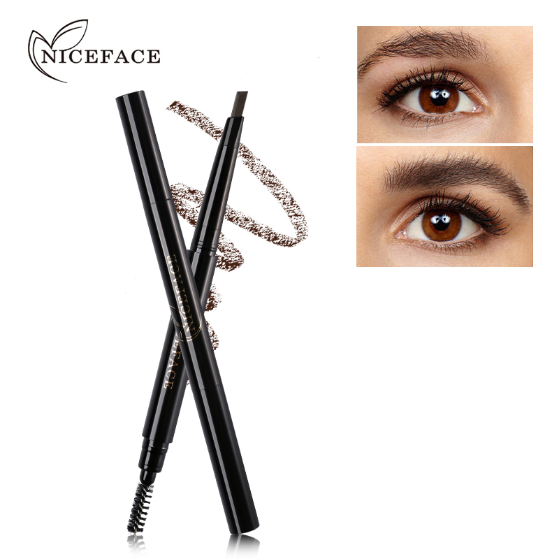 NICEFACE Pro Eyebrow Pencil Wodoodporna długotrwała poprawa brwi - Makijaż - Zdjęcie 3
