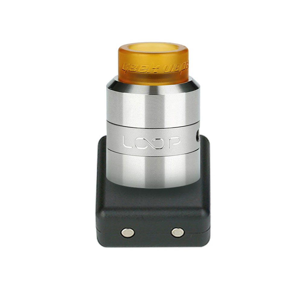 100% Original GeekVape Tsunami 24 RDA Atomizer Support Single or Dual Coil Electronic cig Rebuildable Atomizer 24mm Vape Tank