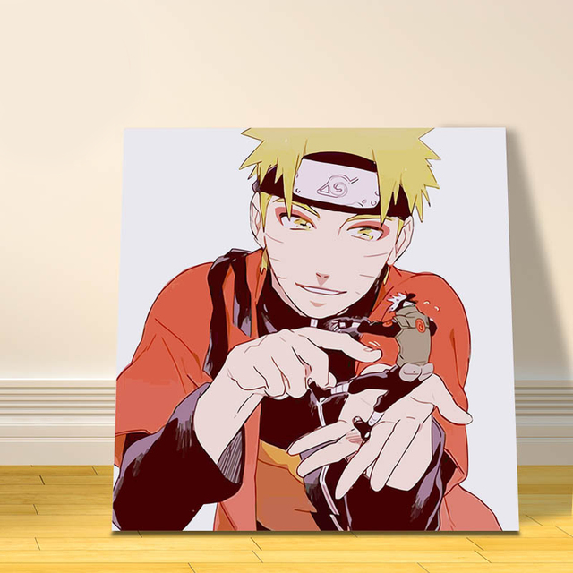modular painting Naruto digital paint by numbers