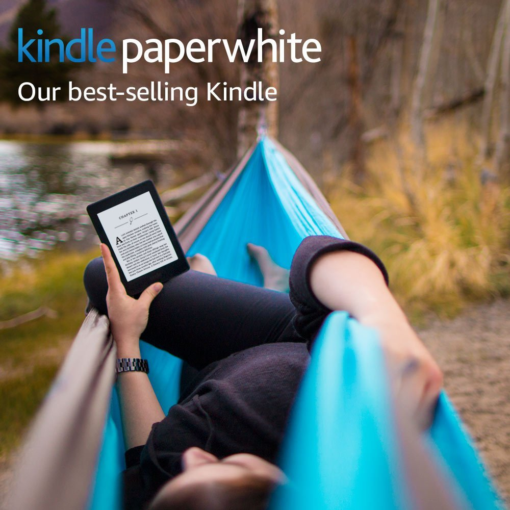"""Kindle Paperwhite White 32GB eBook e-ink Screen WIFI 6""""LIGHT Wireless Reader With built-in backlight e-Book Reader 4"""