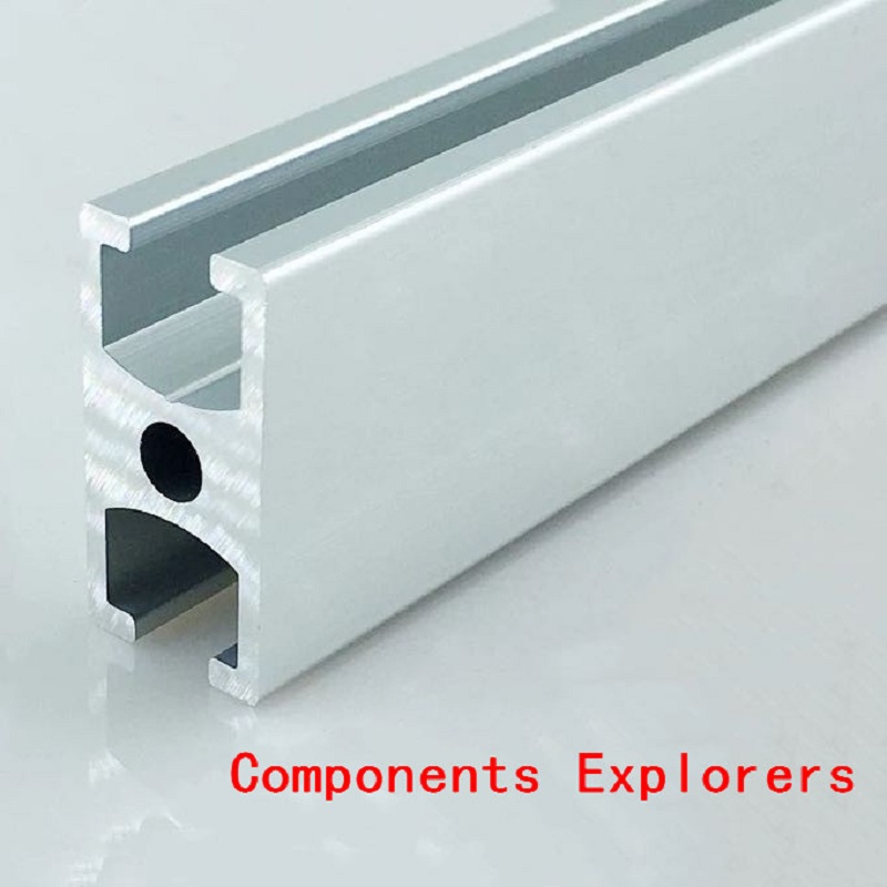 Arbitrary Cutting 1000mm 1530G Aluminum Extrusion Profile,Silvery Color.