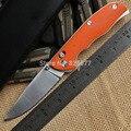 Alta qualidade tabargan 95 faca dobrável D2 lâmina G10 handle outdoor survival camping caça tático faca de bolso ferramentas EDC