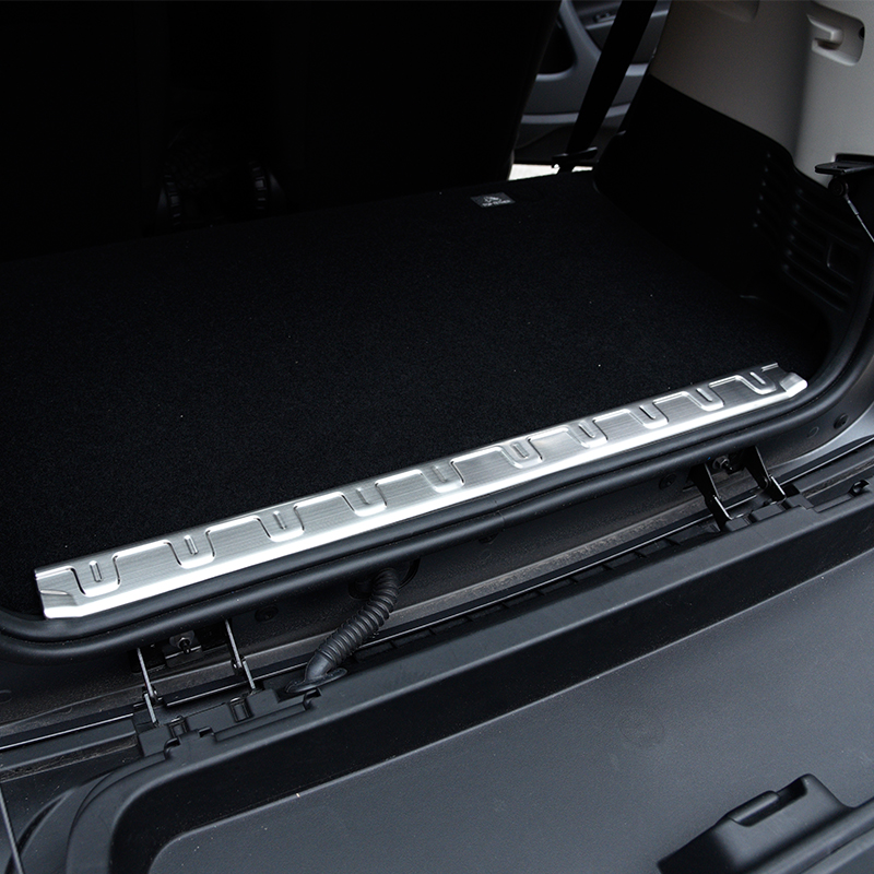 car Trunk trim Stainless steel trunk protector Decorative sticker for new smart 453 fortwo modification accessories