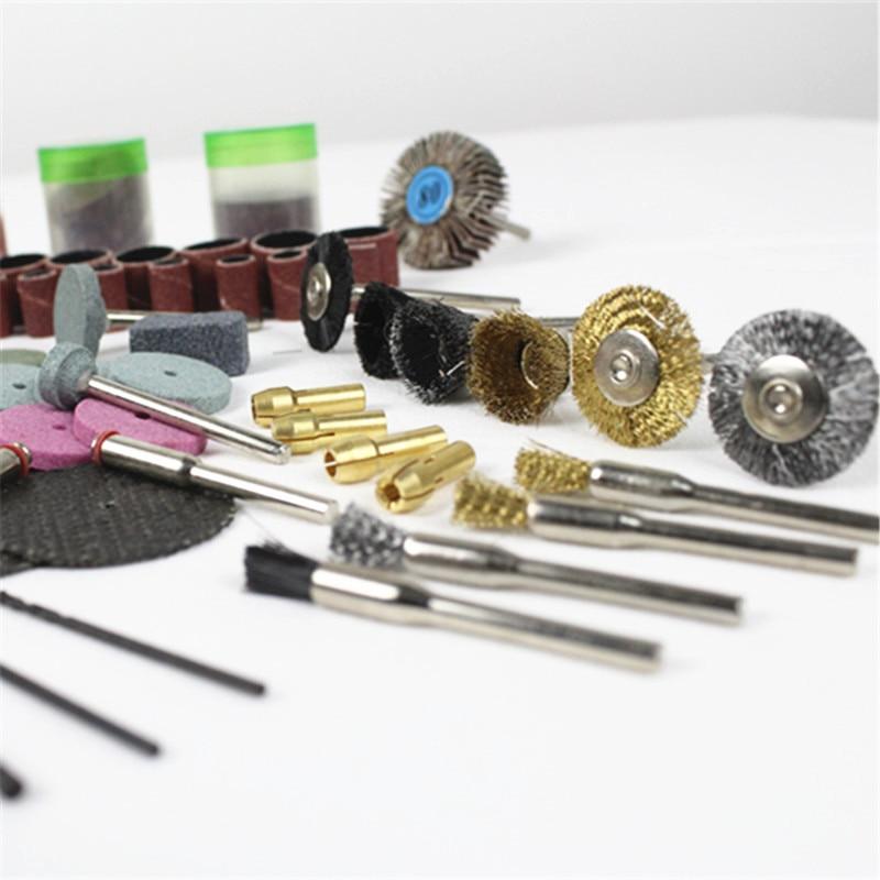 147pcs / set accessoire rotatif abrasif pour outils rotatifs Dremel - Abrasifs - Photo 5