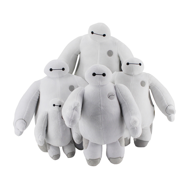 цены 40CM Big Hero 6 Baymax Plush Toy Stuffed Soft Doll ROBOT Stuffed Animals Plush Baby Toys Movable Hands Christmas Gifts