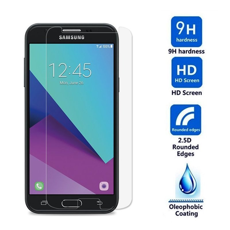 Tempered Glass Film for Samsung Galaxy J2 Prime 2016 J3 Pro J330 J5 J7 2017 2015 J1 Mini Ace Screen Protector Front Cover