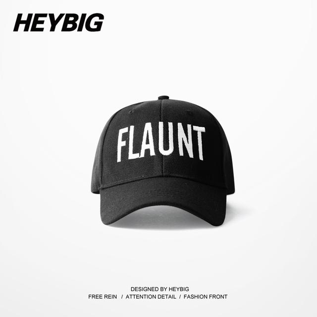 Flaunt homens Hip hop rua cap Pai divertido estudante de moda 2017 nova primavera projeto chapéus bonés de beisebol QUENTE Caixa personalizável