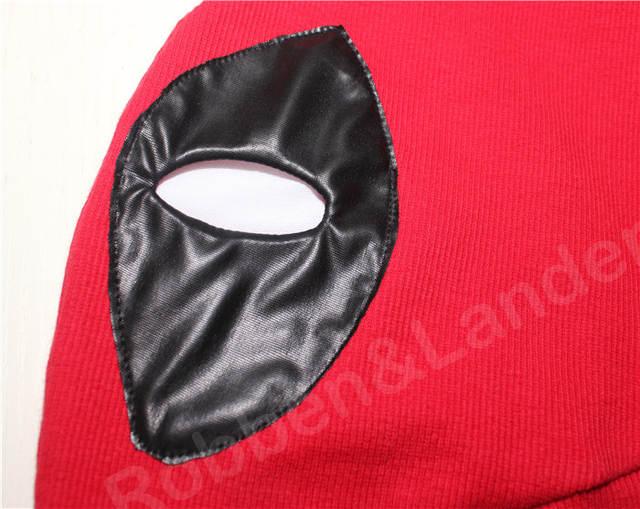 Marvel Deadpool Masks Superhero Balaclava Halloween Cosplay Costume X-men Hats  Headgear Arrow Party Neck a090b9a67ce4
