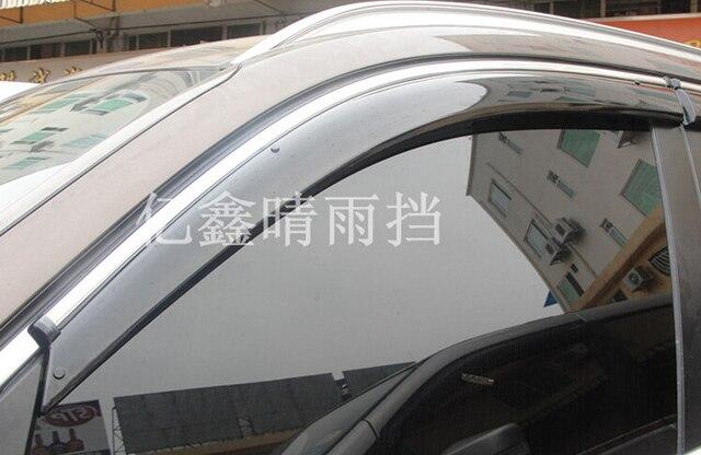 Окно Visor Vent Солнце Дождь Щит Delflector Для BMW X5 e70 2011-2012