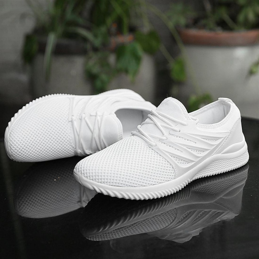 Men Air Mesh Running Shoes New Breathable Outdoor Light Running Sports Tennis Jogging Althletic Trainers Sneakers