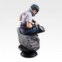 6 unids/set Naruto figuras de acción muñecas ajedrez nueva PVC Anime Naruto Sasuke Gaara modelo figuras para la colección de decoración, regalo de juguetes,