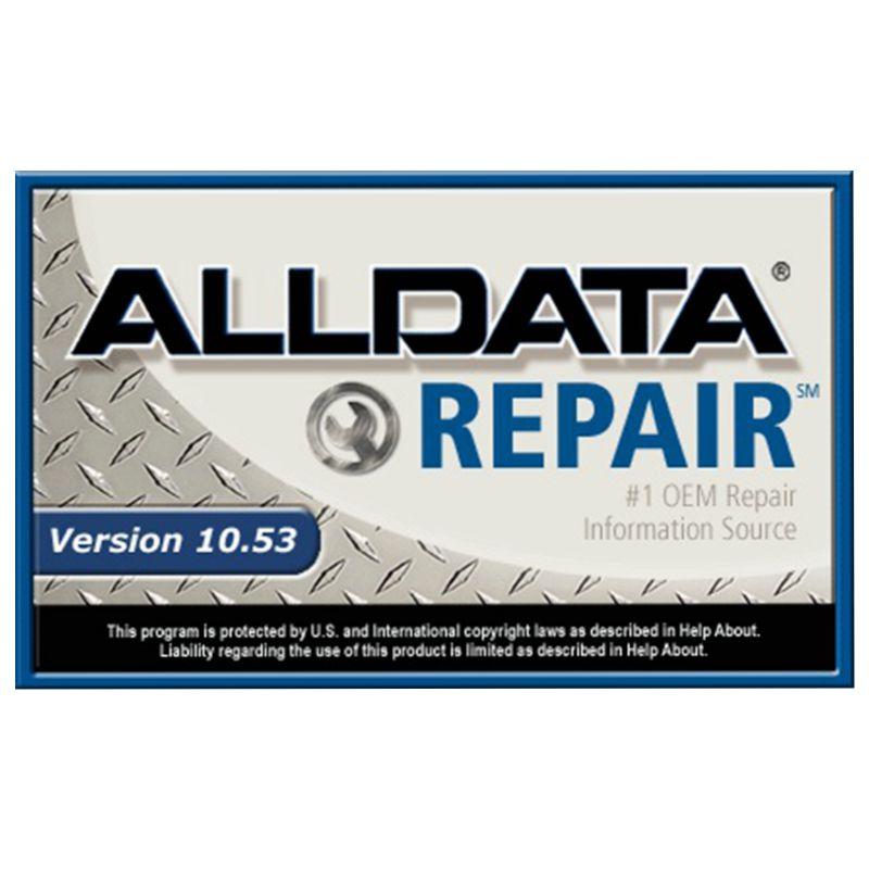 DHL Libero! 2018 nuovo arrivato software di riparazione auto alldata 10.53 e mitchell ondemand 2015 dati di riparazione auto software atsg in 1 tbhdd