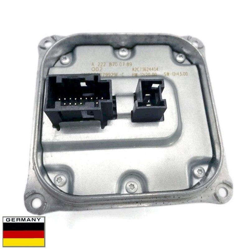 AP02 메르세데스 벤츠 A2228700789-A222 용 새로운 LED 헤드 라이트 제어 장치 모듈 870 07 89-2228700789