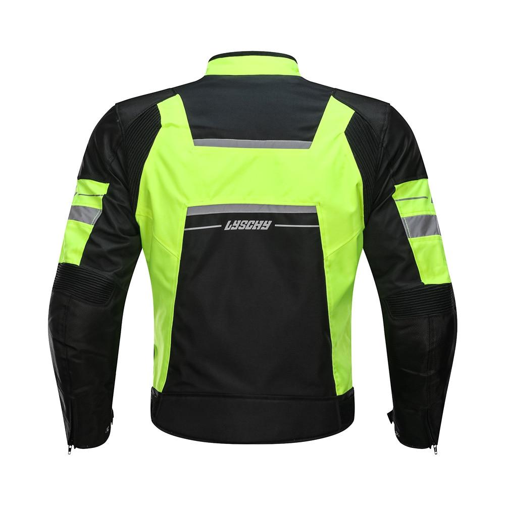 LYSCHY veste de Moto équitation été hiver Detechable imperméable respirant maille veste Moto pantalon costume Moto équipement de protection - 4
