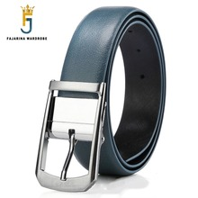 Stylish High Quality Pin Buckle Leather Belt For Men