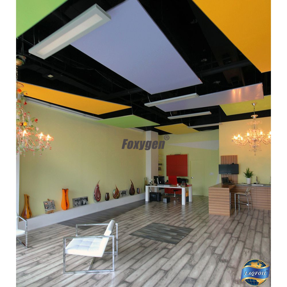 Project Artificial Translucent Uv Resistant Clear Pvc Ceiling Tiles