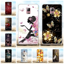 For Samsung Galaxy Note 4 Case Soft TPU N910F N910C Cover Geometric Patterned Funda