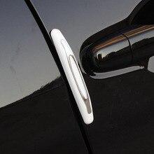 CDCOTN 4pcs Car Door Edge Glue Anti-collision Strip / Rubbing Anti-scratch Protections