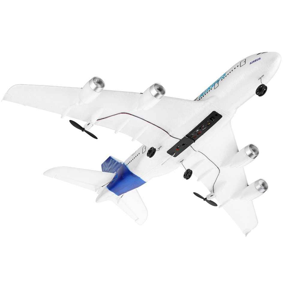 Wltoys XK A120 エアバス A380 模型飛行機 3CH EPP 2.4 グラム 8 分の飛行時間リモコン飛行機の固定翼 RTF おもちゃギフト