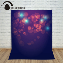 Allenjoy backdrops for font b photo b font thin vinyl Valentine s Day Halo purple Background