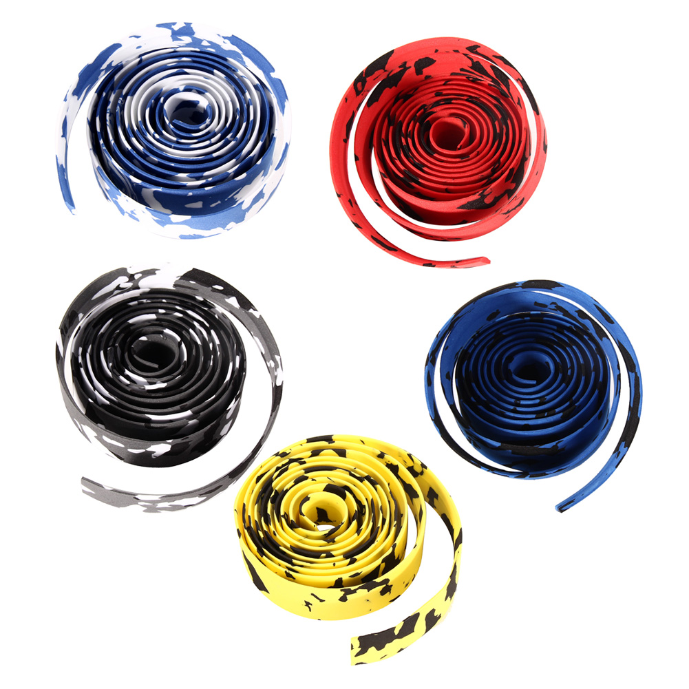 Bicycle Handlebar Tape Steering Wheel Cover Cycling Handle Nonslip Belt Rubber