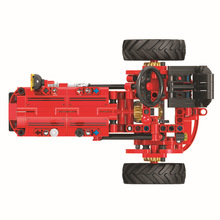 7070 Technology Machinery Series Classical Tractor Assembled Building Blocks Educational Toys Boys for Toys Christmas цена