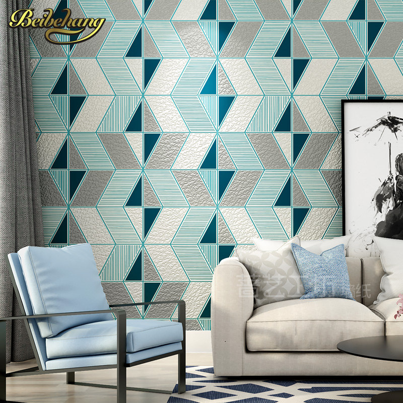 beibehang papel de parede 3d Deer skin geometry wall paper roll wallpaper for Living Room flooring contact-paper bedroom panel wallpaper for walls 3 d modern trdimensional geometry 4d tv background wall paper roll silver gray wallpapers for living room