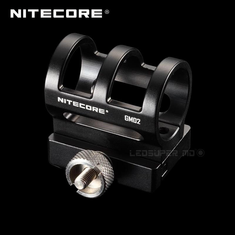 Nitecore GM02 Tactical Flashlight Gun Mount Suitable For Precise Series/ Chameleon Series/ SRT7/ SRT6/ MT25/ MT26/ MH25