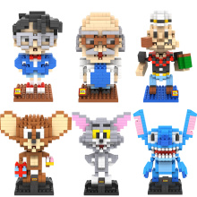 LOZ Mini Models Building Block kit Conan Hakase Agasa Popeye Stitch Tom and Jerry DIY Toy