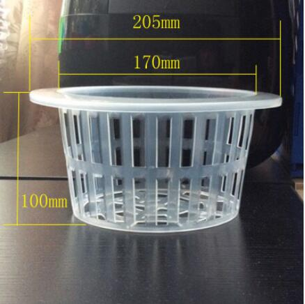 Free shipping 10pcs lot 14 PP big Colonization basket Soilless cultivation planting Hydroponics vegetable water balcony