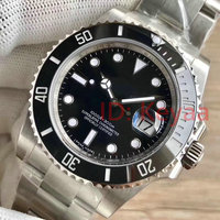 Ceramic Bezel Mens Top Luxury Brand AAA 2813 Mechanical Stainless Steel Automatic Watch Sports Self wind Watches Wristwatches