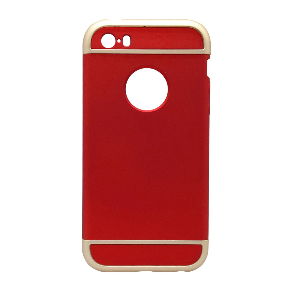 Свет Съемная 3 в 1 жесткий пластиковый чехол для телефона кожного покрова для iPhone SE