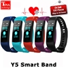 Y5 Smart Band Watch Color Screen Wristband Heart Rate Activity Fitness Tracker Smartband Electronics Bracelet VS