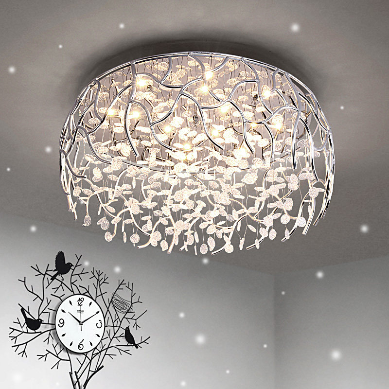 Ceiling Lights & Fans Vintage Ceiling Lights Lustre Luminaria Led Ceiling Lamp Loft Iron Cage Fixtures Abajur Home Lighting Plafonnier For Living Room Fashionable And Attractive Packages