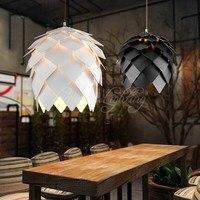 European OAK Pinecone Wood Skrivo Pendant Lights Lamps Vintage DIY Creative Edison Bulb Japan Rural Suspension