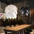 European OAK Pinecone Wood Skrivo Pendant Lights Lamps Vintage DIY Creative Edison Bulb Japan Rural Suspension Hanging Lamparas