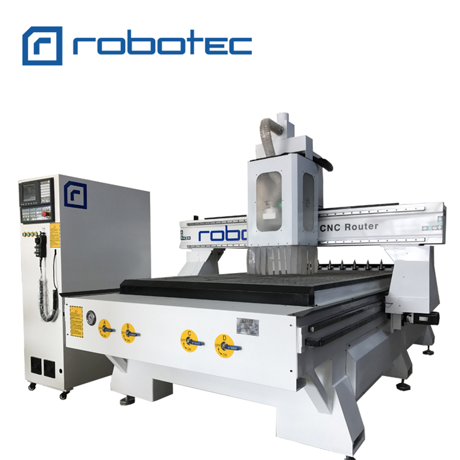 Bedroom Furniture ATC Wood Carving Machine/ 1325 CNC Router 4 Axis Wood Milling Machine/3D Metal Aluminum CNC Cavring Engraving