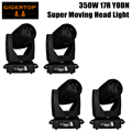 Free Shipping 4 Units YODN 17R SPOT PRO Moving Head Light AC110-240V YODN 17R 350W moving head beam gobo wash light 3in1 dmx