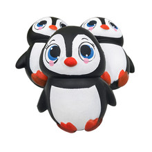 Kawaii Squishy Slow Rising Female penguin Pendant Toys Charms Kids Toy Cute Relieves Stress Anxiety 2018 New Fun Kids Toys Gift(China)