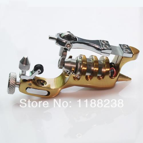 Special Supply Gold Primus Sunskin Rotary Tattoo Machine with Taiwan Motor Precise tattoo gun high quality primus sunskin rotary machine gun kit taiwan motor black precise rotary tattoo machine loom tool free shipping
