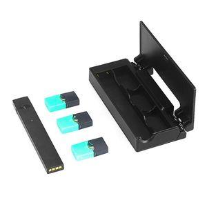 Зарядное устройство 1200 мАч держатель для электронных сигарет чехол-органайзер светодиодный портативный дисплей для JUUL