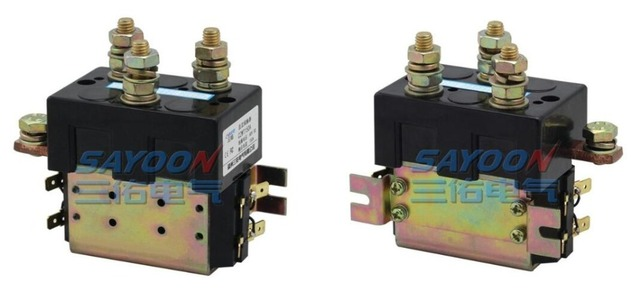 SAYOON DC 120V contactor  CZWT150A , contactor with switching phase, small volume, large load capacity, long service life.