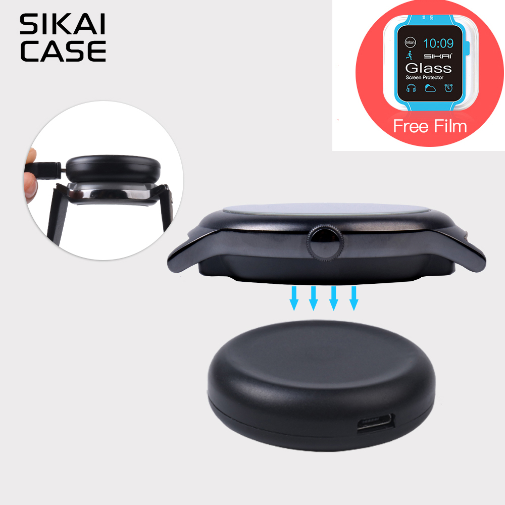 SIKAI Watch Charger For LG Smart Watch Charging Cradle Dock For Charging Cable For LG Watch Sport Charger Adapter With USB Cable compatible new ep1054 charging cradle charging rack for minolta ep1050 1080 1054 2080 3000
