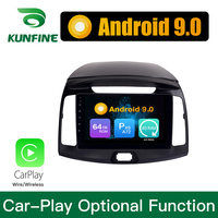 Android 9.0 Ram 4G Rom 64G PX6 Cortex A72 Car DVD GPS Multimedia Player Car Stereo For Hyundai Elantra 2011 2012 2013 2014 2016