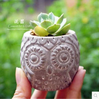 American Country Relief Dandelion Ge Sanghua Geometry Of Circular Concrete Cement Plants Flower Pot Silicone Mold