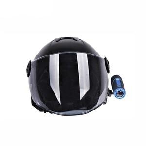 Image 3 - Xberstar 360 graus capacete lateral clipe suporte de montagem para gopro/sjcam/sj4000/xiaomi yi/para sony aee câmeras ação acessórios