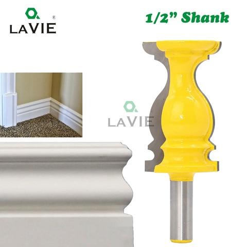 Shank tipo s Corrimão de Madeira Cortador de Madeira Corte de Fresagem – 2 Milímetros Linha Pega Fresa Mc03112 la Vie 1pc 12 1