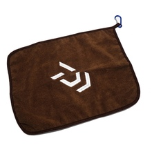 Dayiwa Fishing Towel Thickening Non-stick Absorbent Outdoors Sports Wipe Hands Towel For Hiking Climbing Fishing